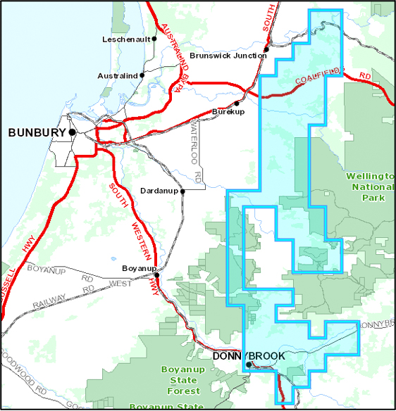 Brunswick Ni-Cu-PGE Prospect Location Map.