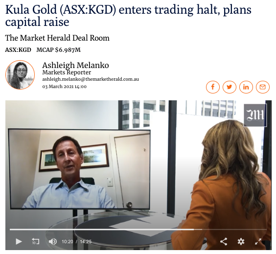 Chairman Mark Stowell talks with The Market Herald - March 2021