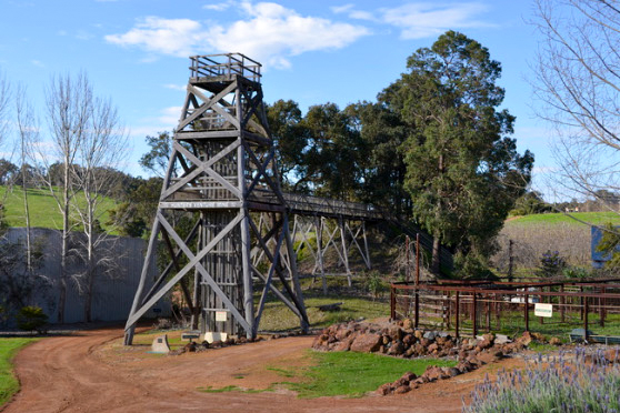 The Hunter Venture Headframe Donnybrook Gold Mine WA. Source: www.donnybrookgold.com.au